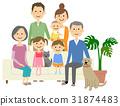 family, household, three 31874483