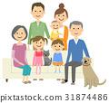 family, household, three 31874486