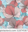 flower, floral, background 31874587