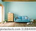 客厅 起居室 沙发 31884009