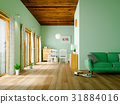 거실과 주방 (그린) 31884016