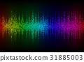 Sound Wave Background.Digital energy sound 31885003