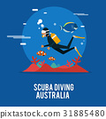 Scuba diving extream activity in Australia  31885480