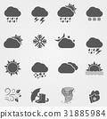 Weather icons 31885984