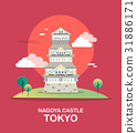 Nagoya castle historic tourist attraction in Tokyo 31886171