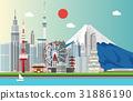 东京铁塔 东京塔 城市 31886190