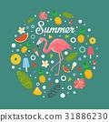 summer, fruit, decoration 31886230