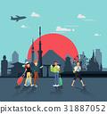 Let's travel in Japan for seeing landmarks 31887052
