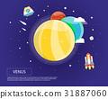 rocket solar system 31887060