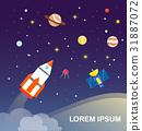 rocket solar system 31887072