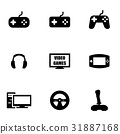 video, vector, games 31887168