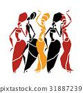dance, vector, design 31887239