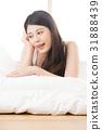 亚洲 亚洲人 床 31888439