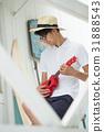 리조트 바캉스 남성 여름 이미지 31888543