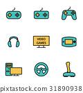 icon, video, line 31890938
