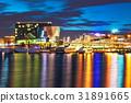 斯德哥尔摩 瑞典 夜晚 31891665