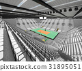 arena, volleyball, beautiful 31895051