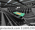 arena, volleyball, beautiful 31895299