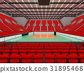 arena, volleyball, beautiful 31895468