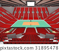 arena, volleyball, beautiful 31895478