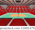 arena, volleyball, beautiful 31895479