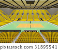 arena, volleyball, beautiful 31895541