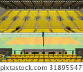 arena, volleyball, beautiful 31895547