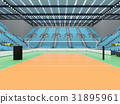 arena, volleyball, seats 31895961
