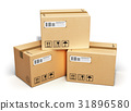 Cardboard boxes 31896580