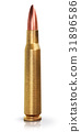 bullet ammunition cartridge 31896586