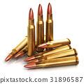 Rifle gun bullets 31896587