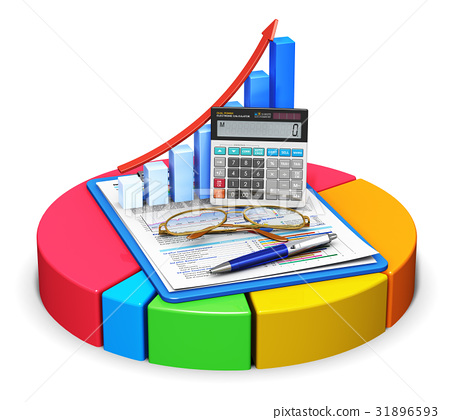 Accounting and statistics concept 31896593