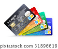 Credit cards 31896619