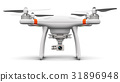 Quadcopter drone with 4K video and photo camera 31896948