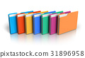 Group of color folders 31896958