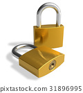 lock, padlock, security 31896995