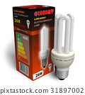 Low-energy lamp with package 31897002