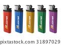 Set of color lighters 31897029