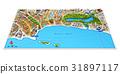 3D city map 31897117