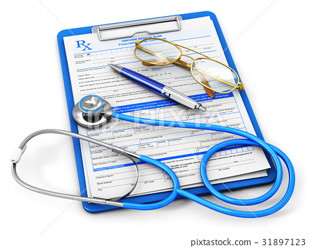 Medical insurance and healthcare concept 31897123