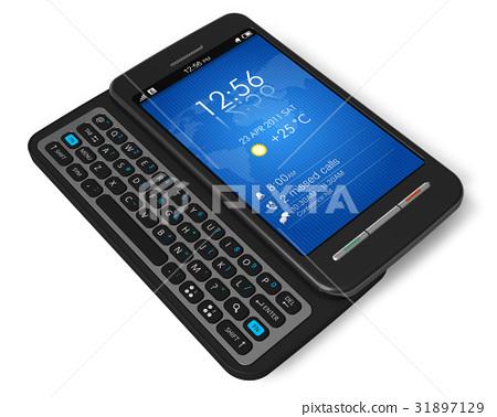 Side slider touchscreen smartphone 31897129