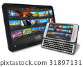 Tablet PC and side slider touchscreen smartphone 31897131