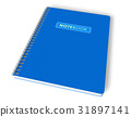 Blue notebook 31897141