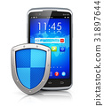 Mobile security and data protection concept 31897644