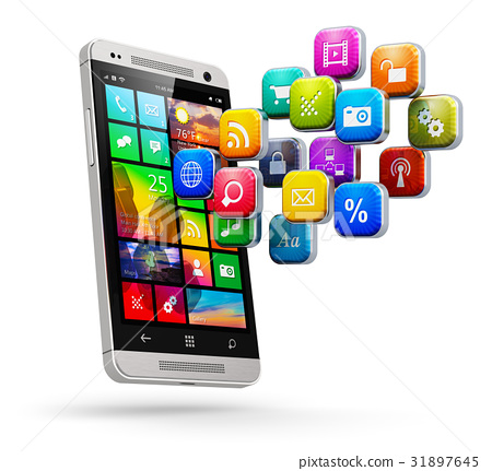 Mobile applications and internet concept 31897645