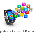 Smart watch applications concept 31897654