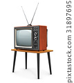 Old TV 31897695