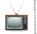 Old TV 31897696