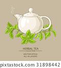 stevia tea illustration 31898442