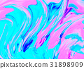 pink blue abstract wave psychedelic background 31898909
